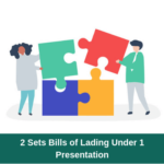 Is it possible to submit 2 bills of lading under one letter of credit presentation?