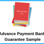 Advance Payment Bank Guarantee Sample