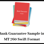 Bank Guarantee Sample in MT 760 Swift Format