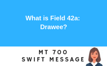 Field 42a: Drawee
