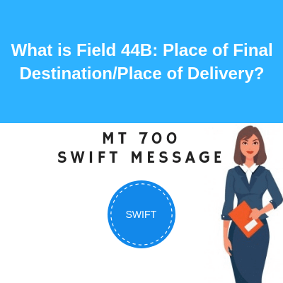 Field 44B: Place of Final Destination/Place of Delivery