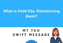 Field 53a: Reimbursing Bank