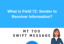Field 72: Sender to Receiver Information