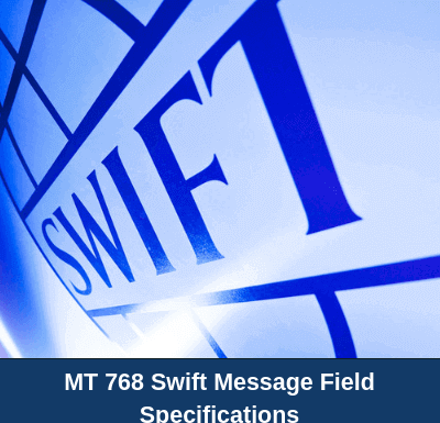 MT 768 Acknowledgement of a Guarantee / Standby Message