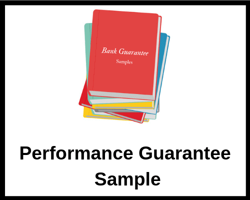 Performance Guarantee Sample | Letterofcredit.biz | LC | L/C