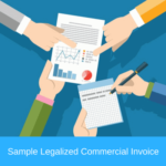 legalized commercial invoice sample