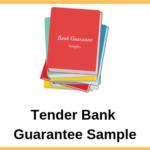 Tender Bank Guarantee Sample