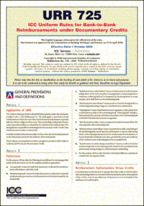 URR 725 – The Uniform Rules for Bank-to-Bank Reimbursements