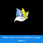 What does full set of bill of lading mean?