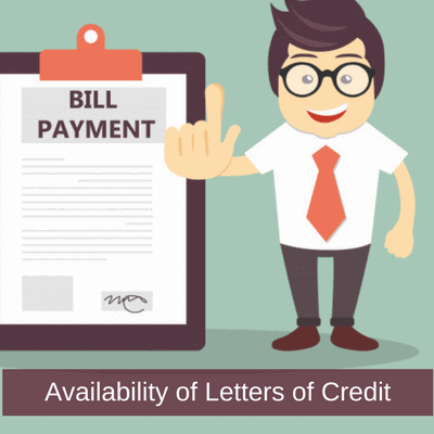 payment types in a letter of credit transaction