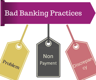 bad banking practices