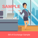 sample bill of exchange