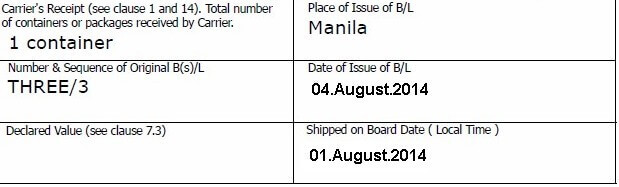 How to determine maturity date if letter of credit states that tenor of the L/C is 60 days after bill of lading issue date?