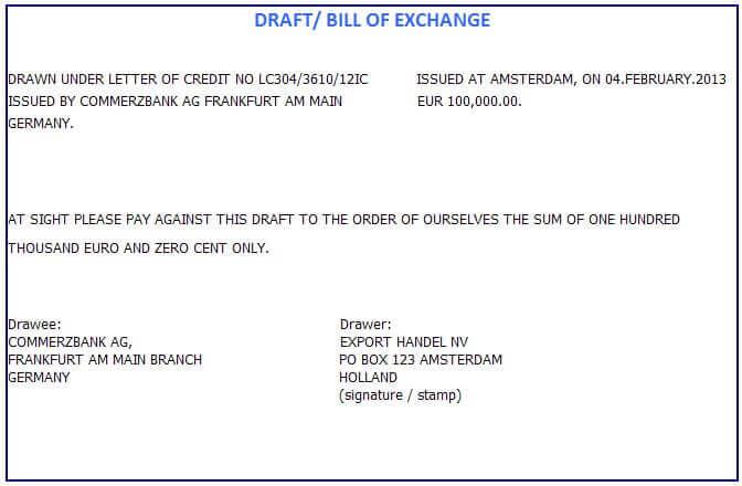 Nominated Bank Letterofcredit Biz Lc L C