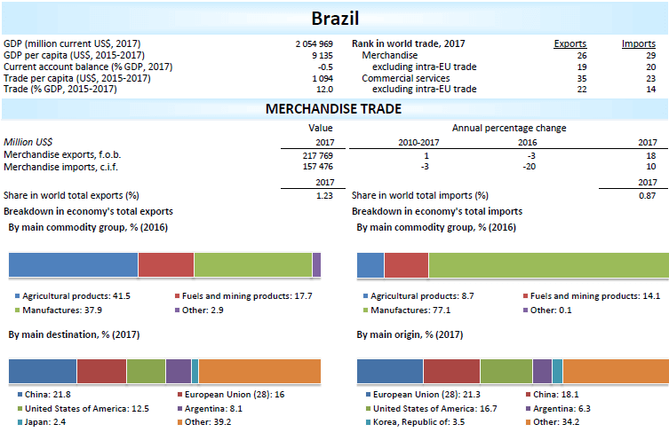 overview of brazil international trade