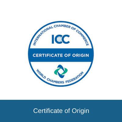 certificate of origin in letters of credit