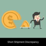 commercial invoice short shipment discrepancy