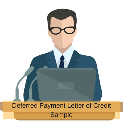 Deferred Payment Letter of Credit Sample