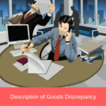 description of goods discrepancy commercial invoice