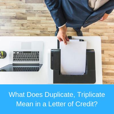 What does duplicate, triplicate, quadruplicate, quintuplicate etc. mean?