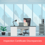 inspection certificate discrepancies