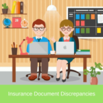 insurance document discrepancies
