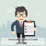 Letter of credit sample