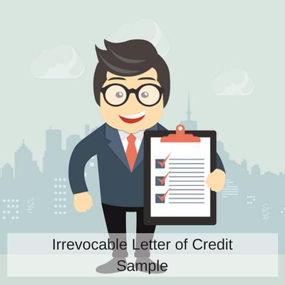 Irrevocable Letter of Credit Sample | Letterofcredit biz