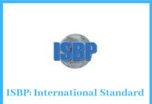 ISBP – International Standard Banking Practices