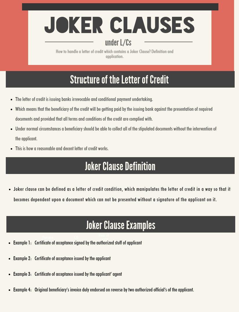 joker clause infographic