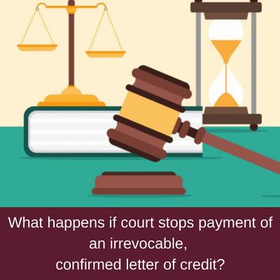 letter of credit court order