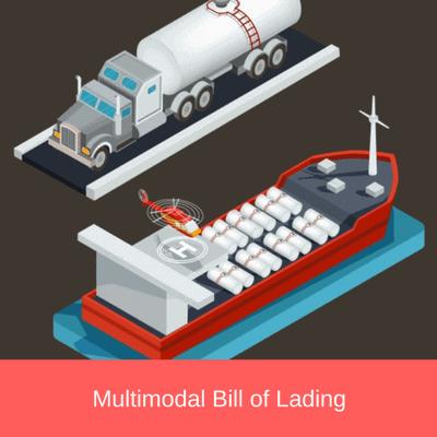 multimodal bill of lading