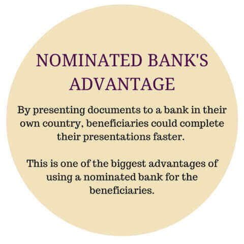 advantages of using a nominated bank