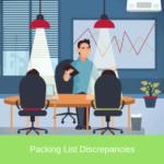 packing list discrepancies