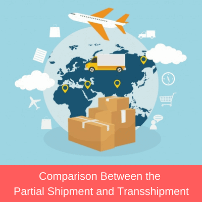 partial shipment and transshipment