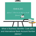 payment methods and bic and iban