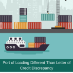 port of loading discrepancy