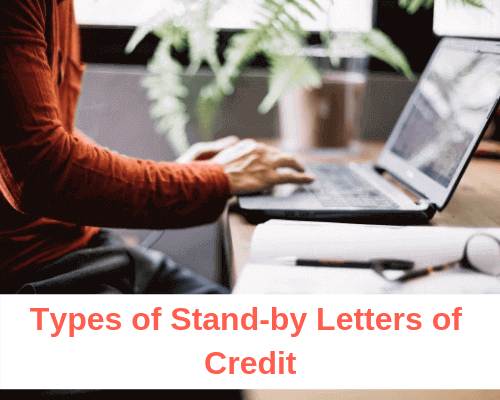 What are the main types of stand-by letters of credit?