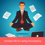 unclean bill of lading discrepancy